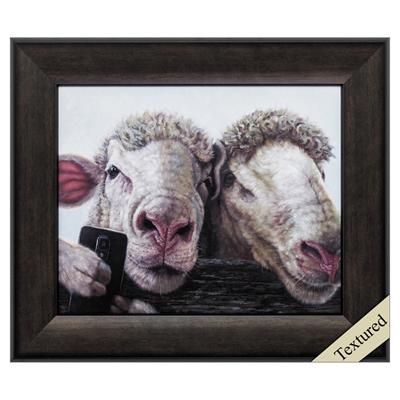 "Framed Animal Wall Art ""Selfie"" - City Home - Portland Oregon - Furniture and Home Decor"