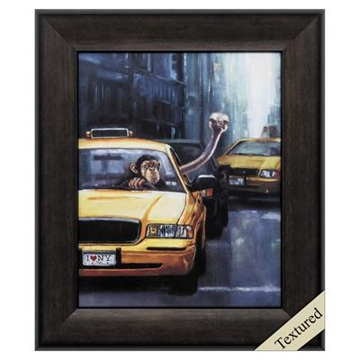 "Framed Animal Wall Art ""Rush Hour"" - City Home - Portland Oregon - Furniture and Home Decor"