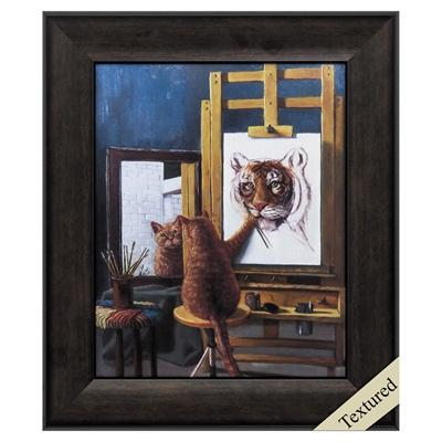 "Framed Animal Wall Art ""Norman Catwell"" - City Home - Portland Oregon - Furniture and Home Decor"