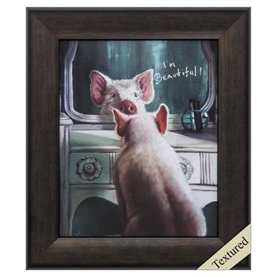 "Framed Animal Wall Art ""Affirmation"" - City Home - Portland Oregon - Furniture and Home Decor"