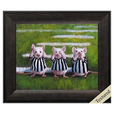 "Framed Animal Wall Art ""Three Blind Mice"" - City Home - Portland Oregon - Furniture and Home Decor"