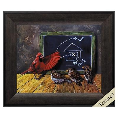 "Framed Animal Wall Art ""Flight School"" - City Home - Portland Oregon - Furniture and Home Decor"