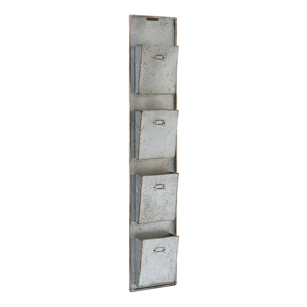 Letterbox Station Wall Organizer - City Home - Portland Oregon - Furniture and Home Decor