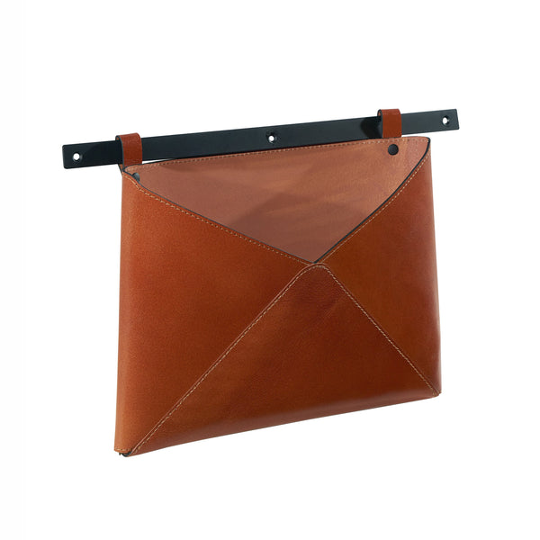 Lola Leather Wall Pocket - City Home - Portland Oregon - Furniture and Home Decor