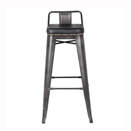 Awesome Metropolis Low Back Bar Stool Squirreltailoven Fun Painted Chair Ideas Images Squirreltailovenorg