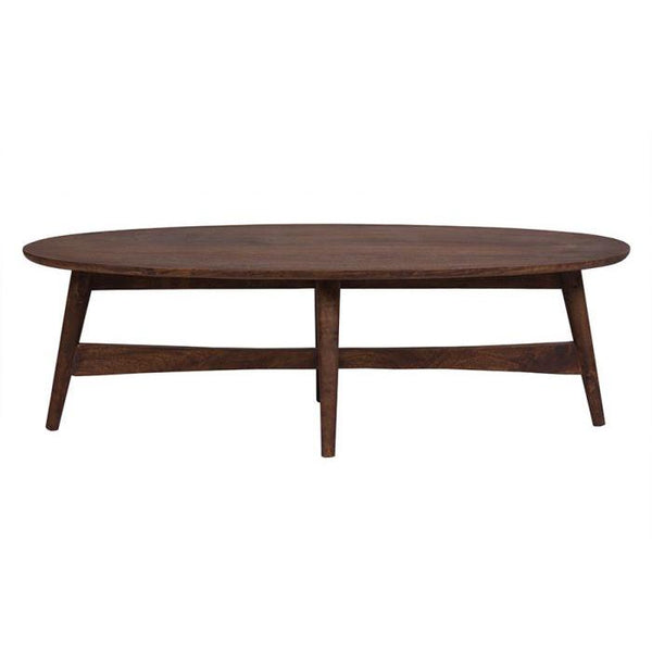 Baja Oval Wood Coffee Table - City Home - Portland Oregon - Furniture and Home Decor