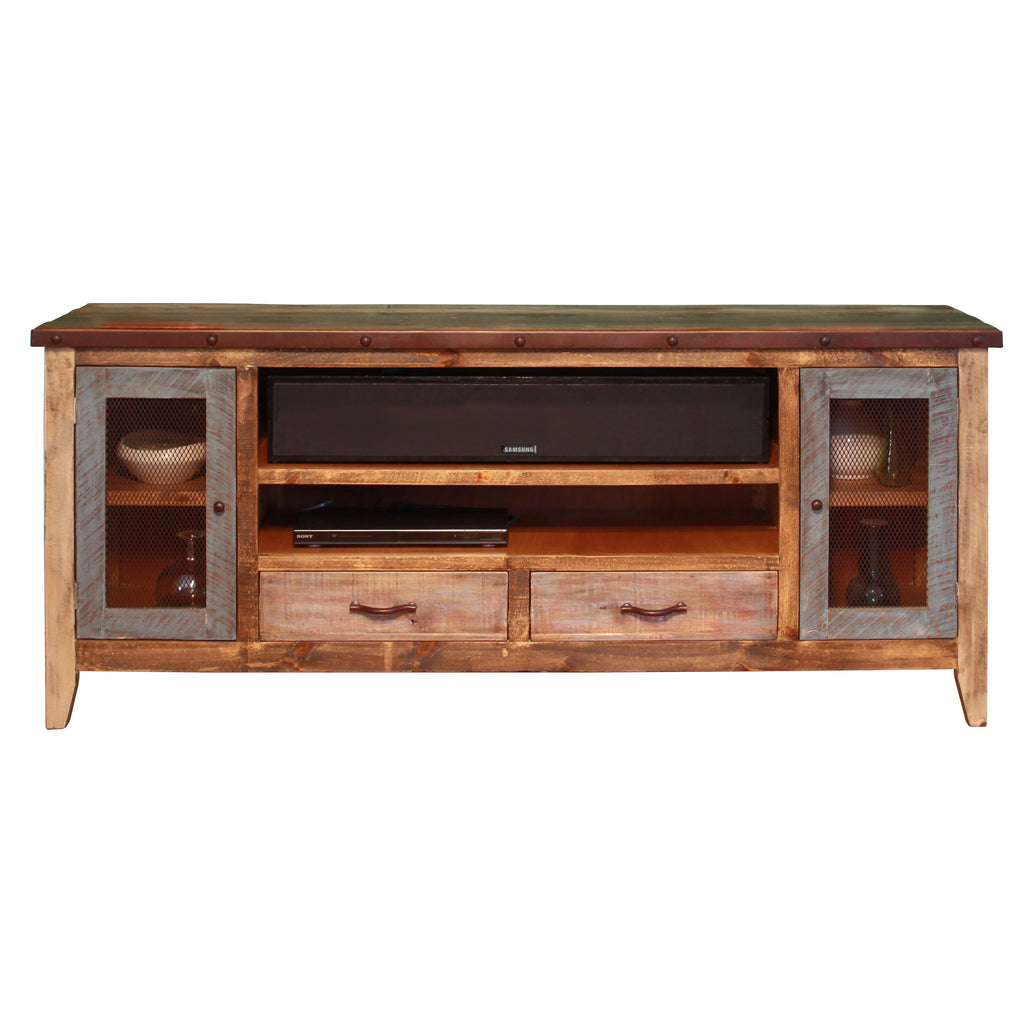 - Antique Style Media Cabinet Wood Home TV Furniture Stand City Home