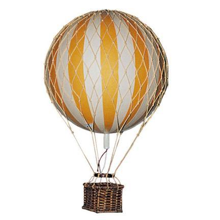 Vintage Style Hot Air Balloon Decor