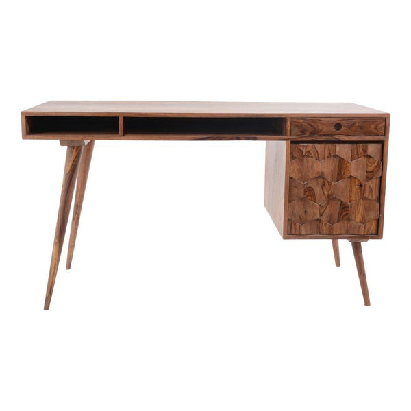 O2 Wood Desk - City Home - Portland Oregon - Furniture and Home Decor