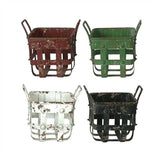 Metal Baskets - City Home - Portland Oregon - Furniture and Home Decor