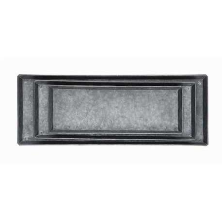 Decorative Zinc Trays - City Home - Portland Oregon - Furniture and Home Decor