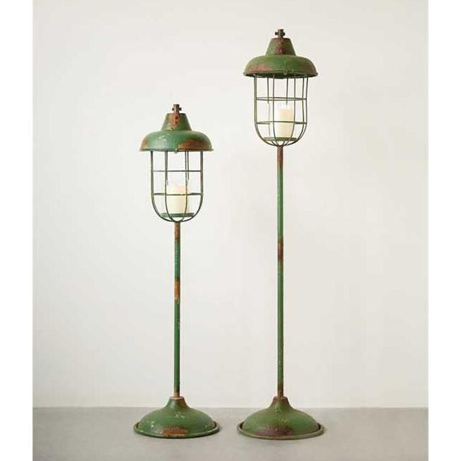 Garden Lantern Candle Stands - City Home - Portland Oregon - Furniture and Home Decor