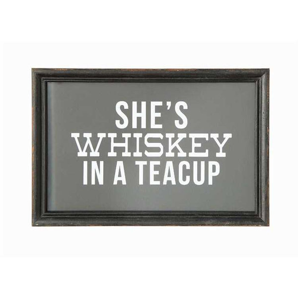 She's Whiskey In A Teacup Art - City Home - Portland Oregon - Furniture and Home Decor