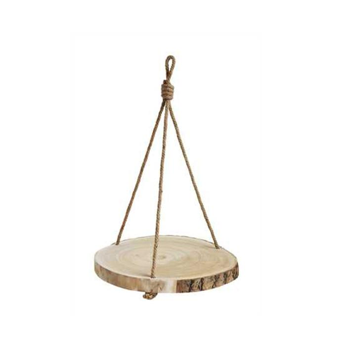 Paulownia Hanging Wood Slice - City Home - Portland Oregon - Furniture and Home Decor