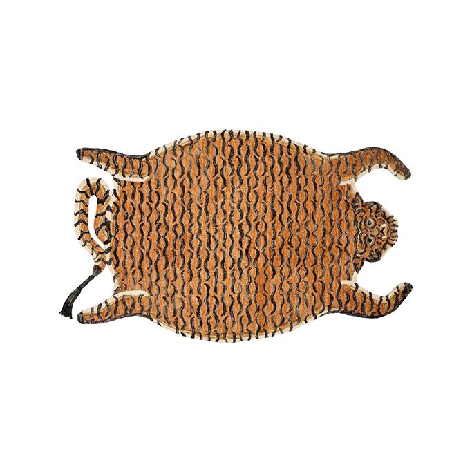 Chubby Tangerine Tiger Rug by Justina Blakeney - City Home - Portland Oregon - Furniture and Home Decor
