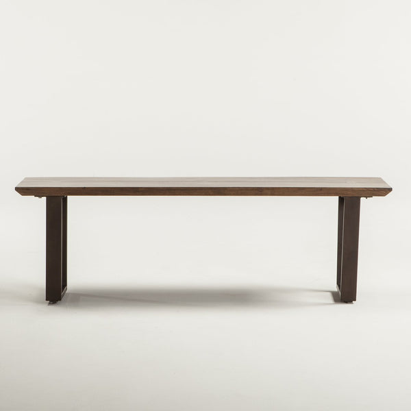 Mozambique Wood Dining Bench - City Home - Portland Oregon - Furniture and Home Decor