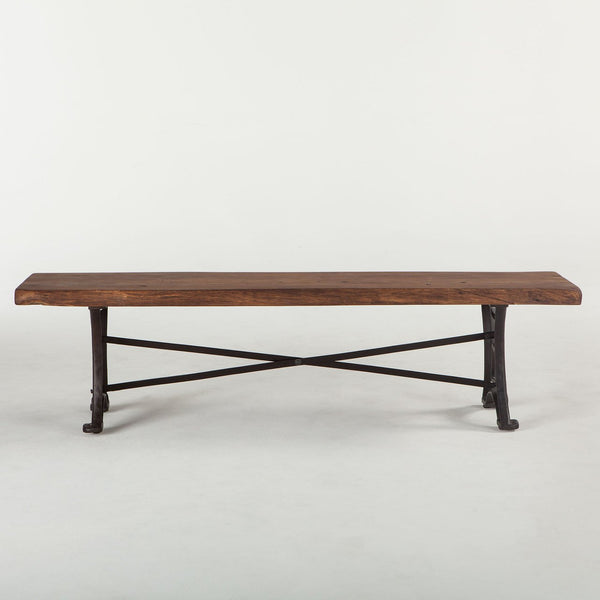 Organic Forge Wood Dining Bench