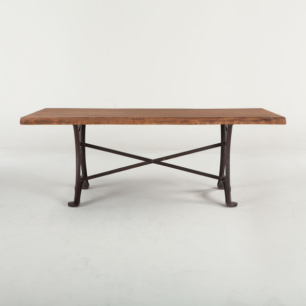Organic Forge Wood Dining Table - City Home - Portland Oregon - Furniture and Home Decor