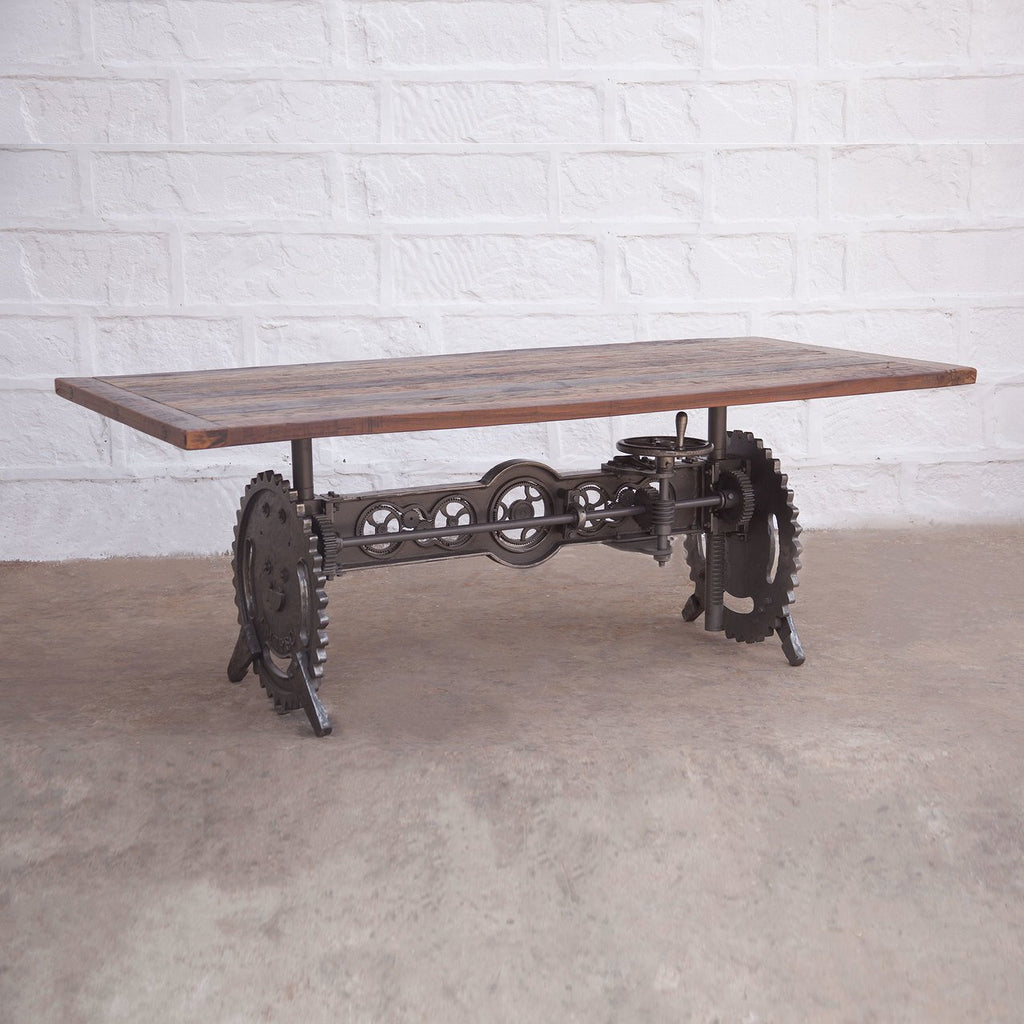 Steampunk Dining Table - City Home - Portland Oregon - Furniture and Home Decor