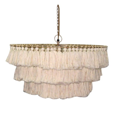 Fela Tassel Chandelier - City Home - Portland Oregon - Furniture and Home Decor
