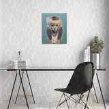 Celebrity Animal Canvas Wall Art - Daisy - City Home - Portland Oregon - Furniture and Home Decor