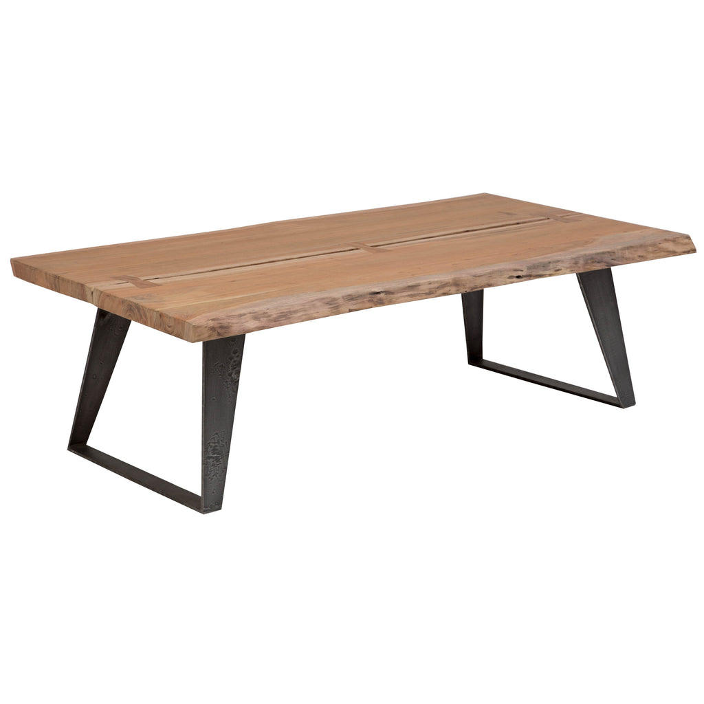 Carmel Live Edge Coffee Table - City Home - Portland Oregon - Furniture and Home Decor