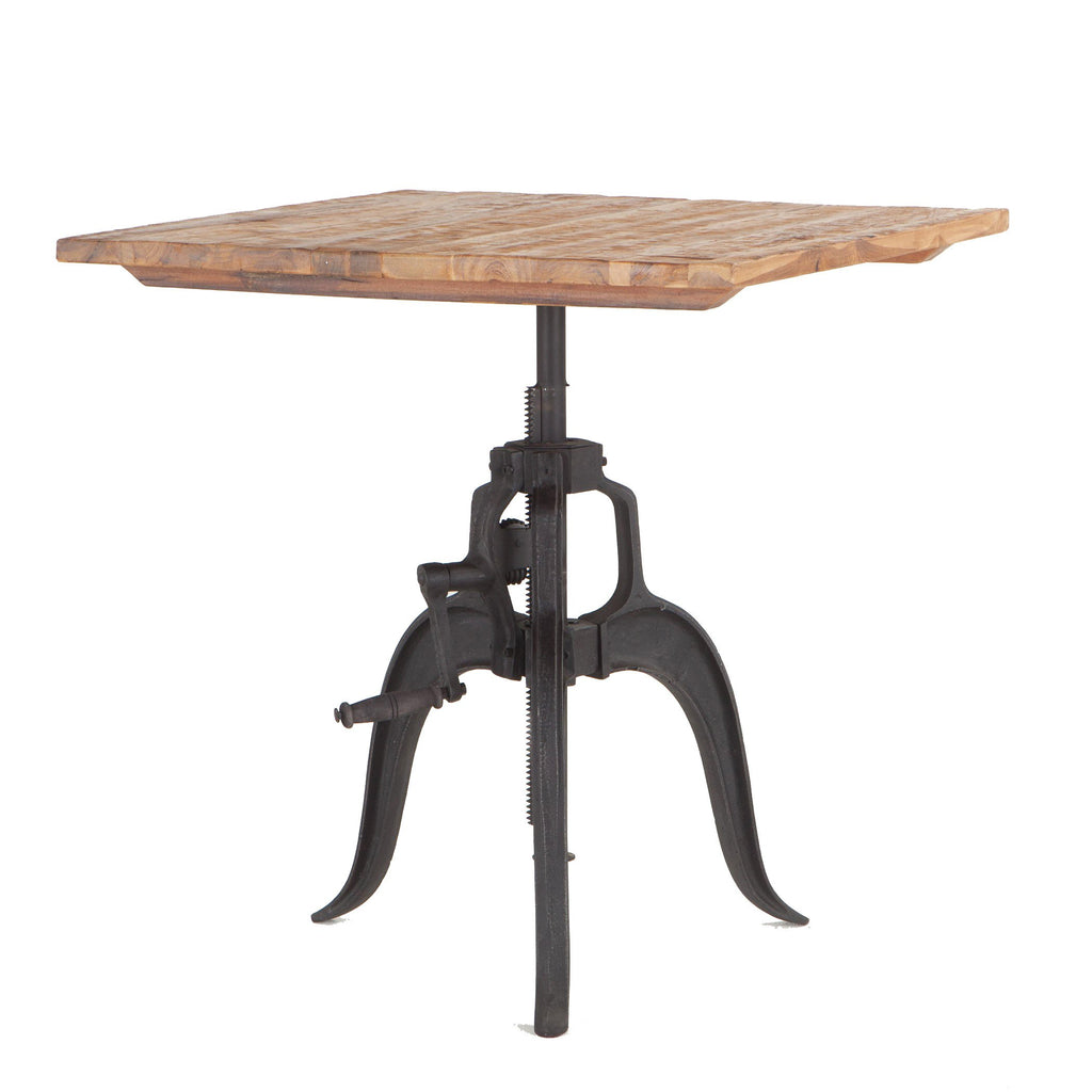 Industrial Loft Adjustable Dining Table - City Home - Portland Oregon - Furniture and Home Decor