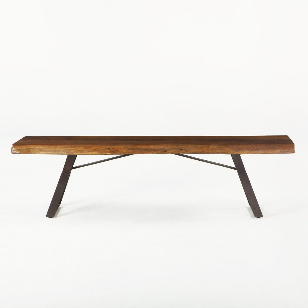 London Loft Dining Bench - City Home - Portland Oregon - Furniture and Home Decor
