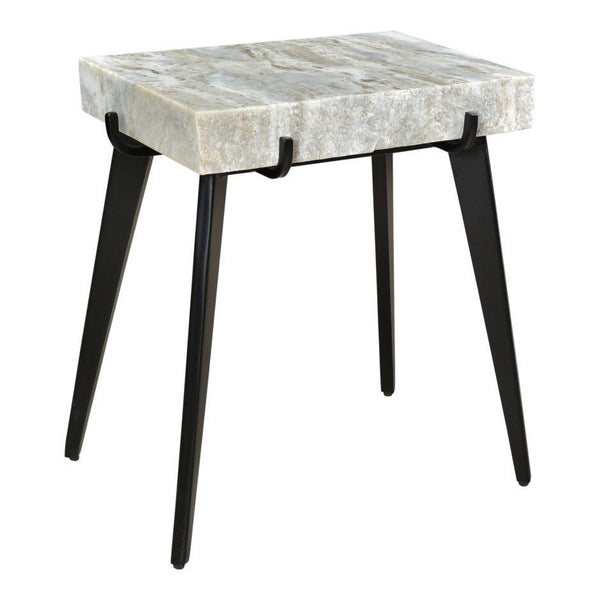 Lauren Marble Accent Table - City Home - Portland Oregon - Furniture and Home Decor