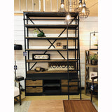 Library Loft Ladder Bookcase - City Home - Portland Oregon - Furniture and Home Decor