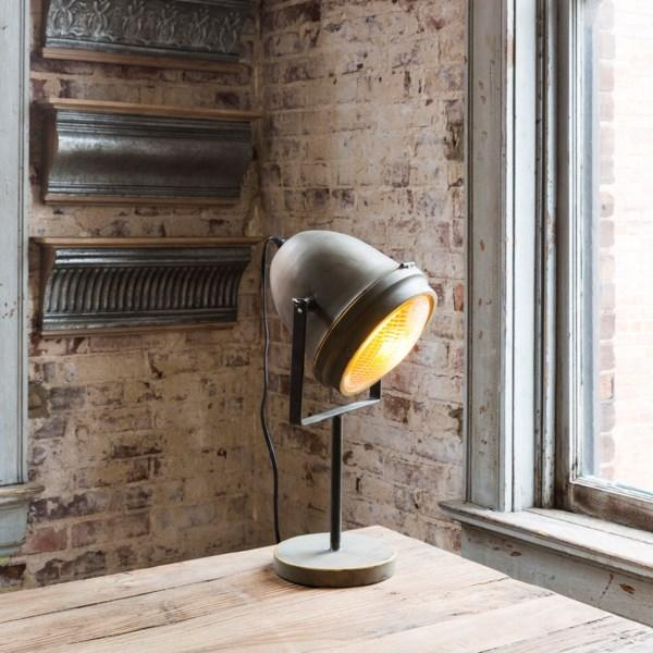 Metal Headlight Desk Lamp - City Home - Portland Oregon - Furniture and Home Decor
