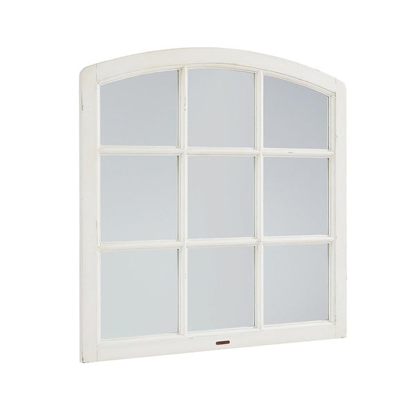 Magnolia Home Belgian Window Mirror - Jo's White