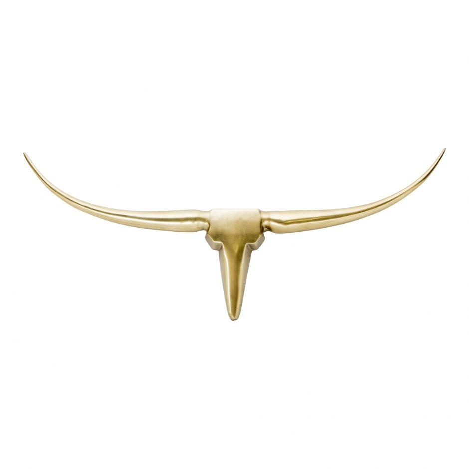 Longhorn Hanging Wall Decor - City Home - Portland Oregon - Furniture and Home Decor