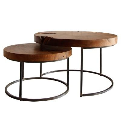 Otto Nesting Coffee Table Set - City Home - Portland Oregon - Furniture and Home Decor