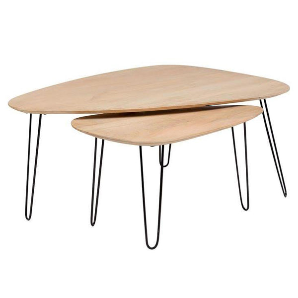 Graphik Nesting Table Set - City Home - Portland Oregon - Furniture and Home Decor