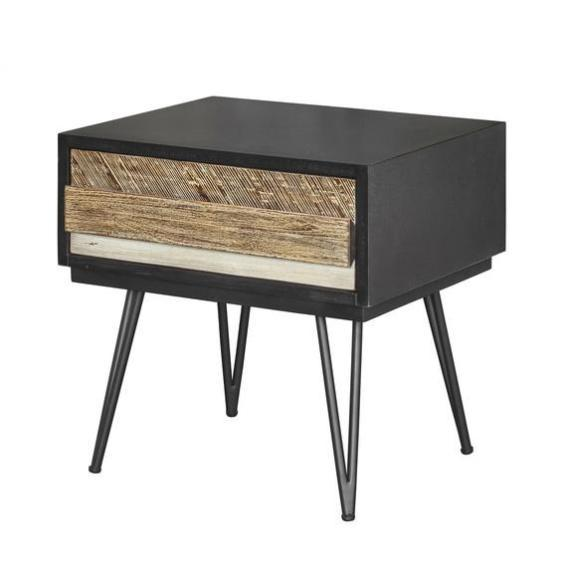 Noir Havana Nightstand - City Home - Portland Oregon - Furniture and Home Decor