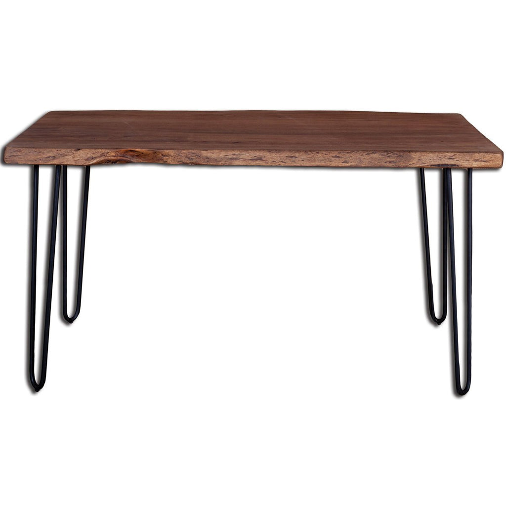 Organic Live Edge Dining Table - City Home - Portland Oregon - Furniture and Home Decor