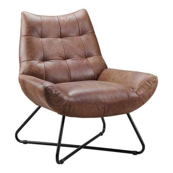 Graduate Leather Lounge Chair - City Home - Portland Oregon - Furniture and Home Decor