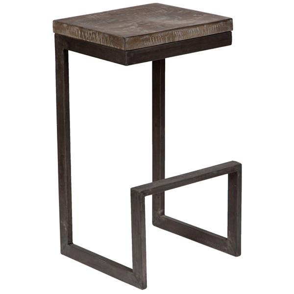 Cube Bar Stool - City Home - Portland Oregon - Furniture and Home Decor