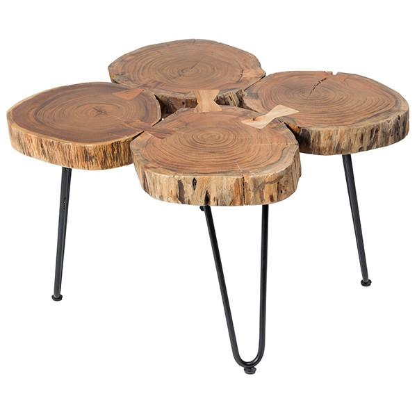 Indian Reclaimed Wood Coffee Table: Vintage Indian Wedding Table