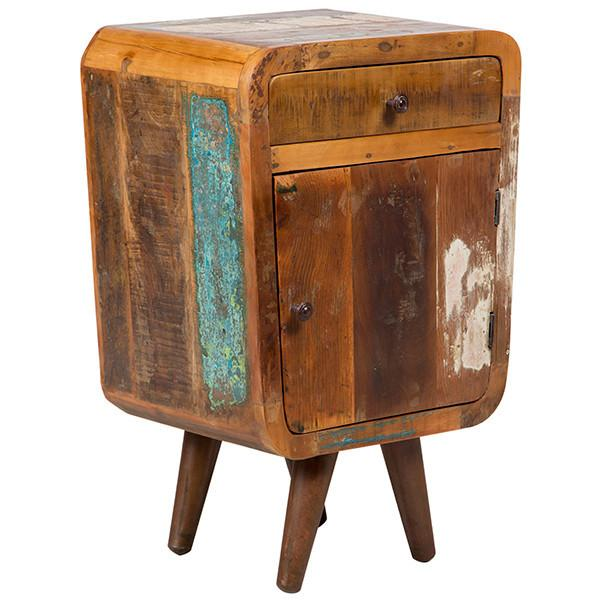 Route 66 End Table - City Home - Portland Oregon - Furniture and Home Decor