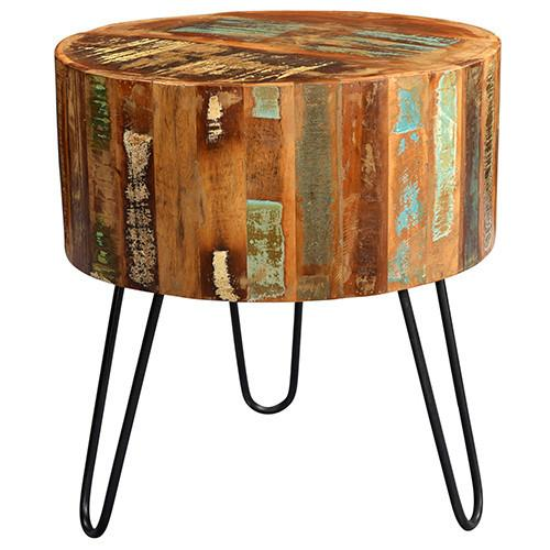 Tusla Round End Table