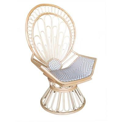 Zahra Peacock Chair - City Home - Portland Oregon - Furniture and Home Decor