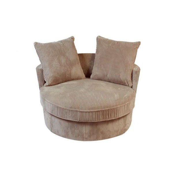Big Chill Tan Swivel Chair - City Home - Portland Oregon - Furniture and Home Decor