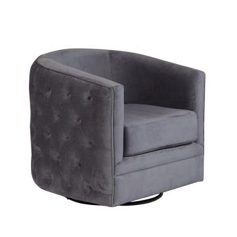 Gabby Swivel Accent Chair - City Home - Portland Oregon - Furniture and Home Decor