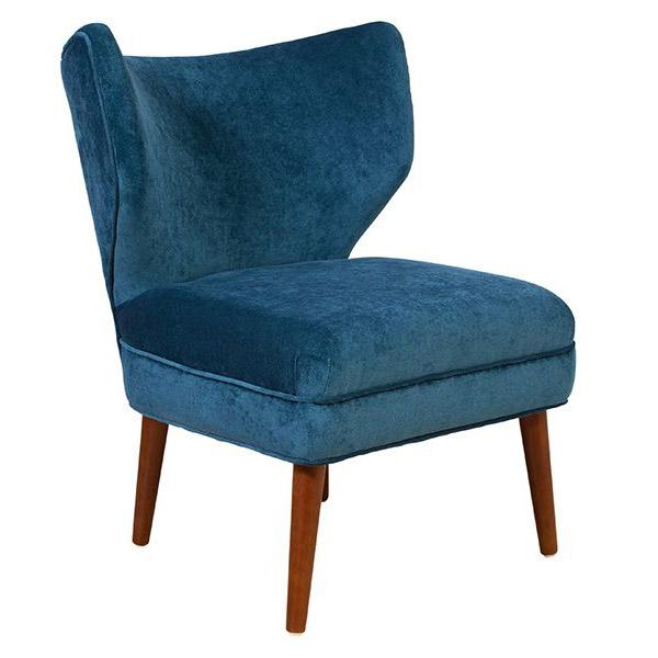Layla Velvet Accent Chair - City Home - Portland Oregon - Furniture and Home Decor