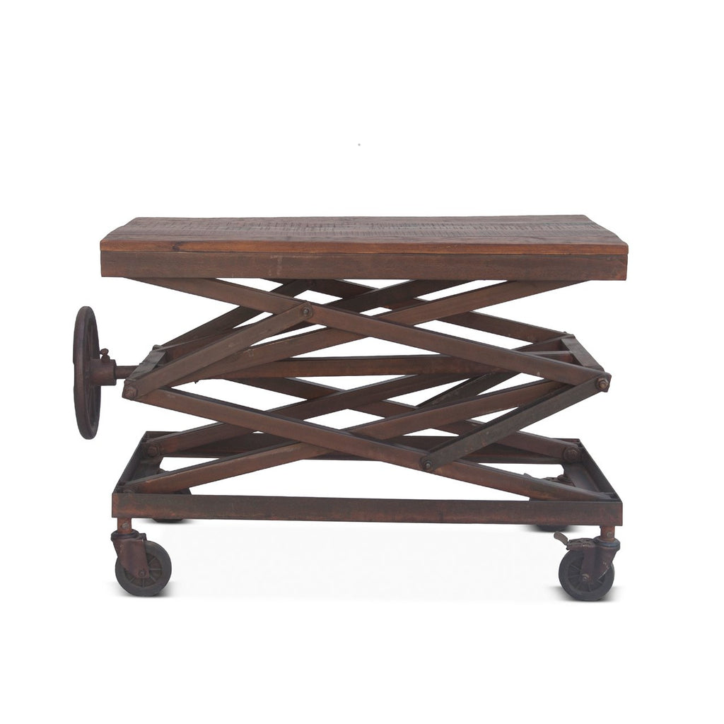 Adjustable Side Table - City Home - Portland Oregon - Furniture and Home Decor