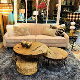Betty Blush Pink Sofa - City Home - Portland Oregon - Furniture and Home Decor