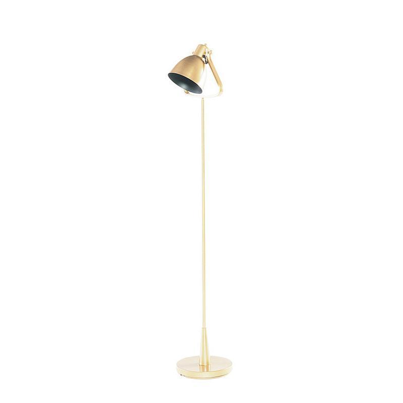 Brass Floor Lamp by Magnolia Home - City Home - Portland Oregon - Furniture and Home Decor