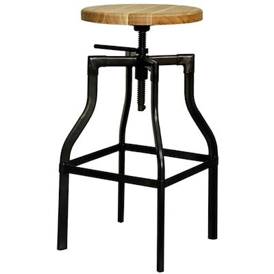 Cite Industrial Stool - City Home - Portland Oregon - Furniture and Home Decor